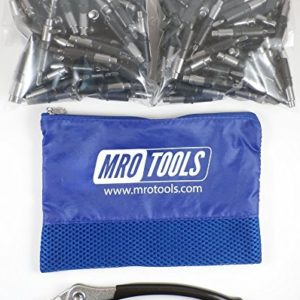 25 1//8 /& 25 3//16 Heavy Duty Cleco Fasteners w// Mesh Carry Bag KHD3S50-1